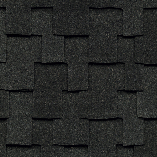 GAF Grand Sequoia IR 20-sq ft Charcoal Laminated Architectural Roof Shingles