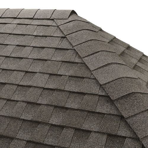 GAF Seal-A-Ridge 25-lin ft Pewter Gray Hip and Ridge Roof Shingles