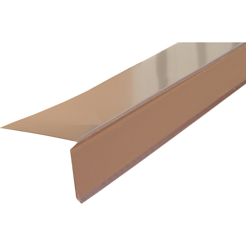 Union Corrugating 3-in x 10-ft Galvanized Steel Drip Edge