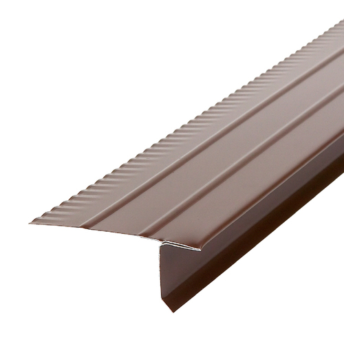 Amerimax F5 2.88-in x 10-ft Galvanized Steel Drip Edge