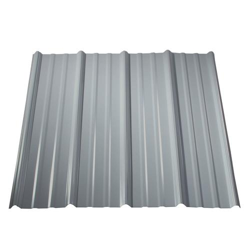 Metal Sales Classic Rib 3-ft x 8-ft Ribbed Steel Roof Panel