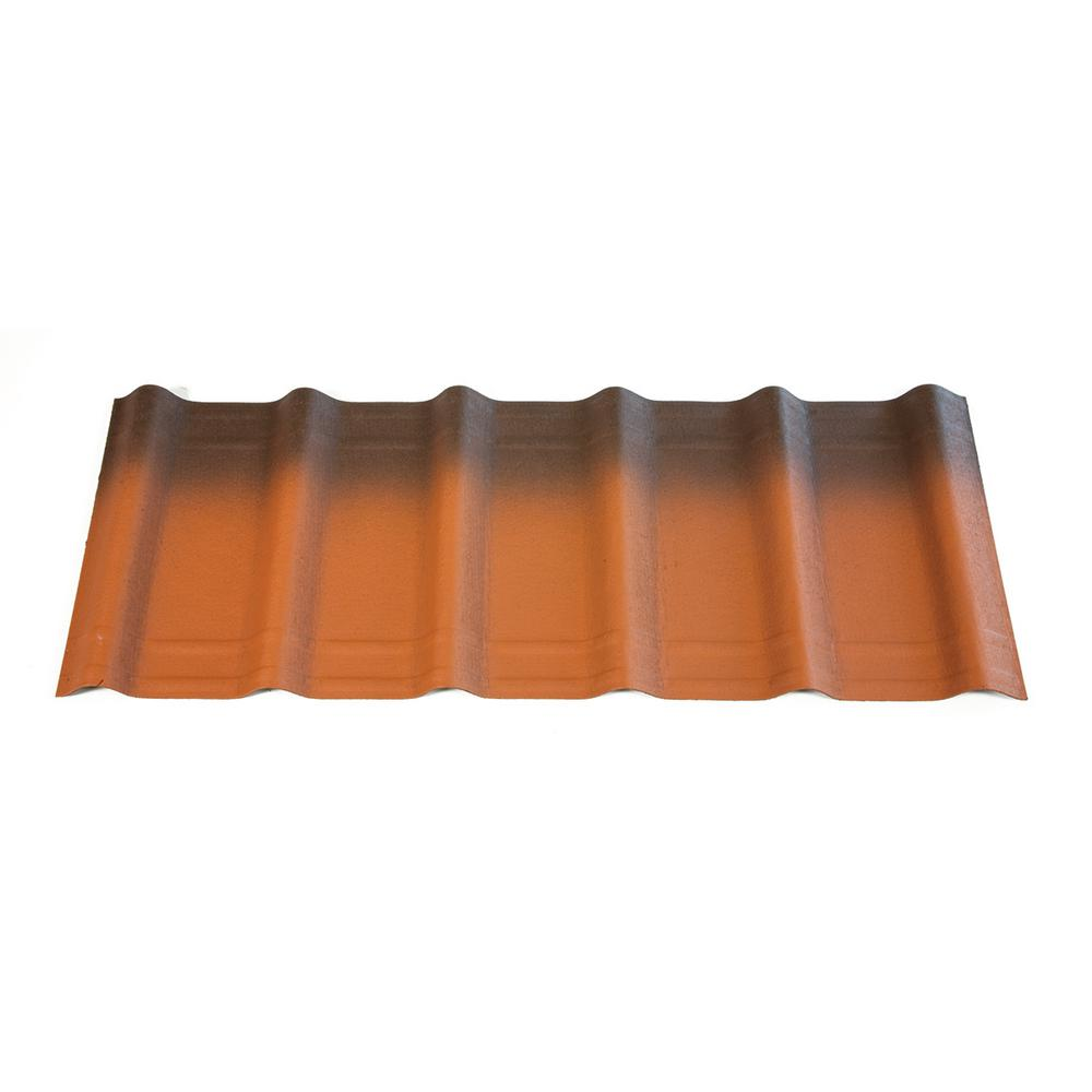 42 in. x 16 in. x 1.6 in. Terracotta Asphalt Architectural Shingles(33.33 sq.ft.per Bundle) (10 Pieces)