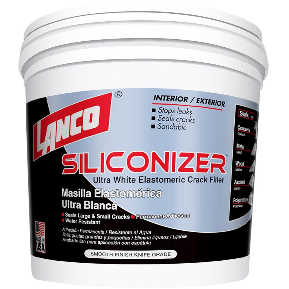 1 Gal. Siliconizer Crack Filler Roof Coating