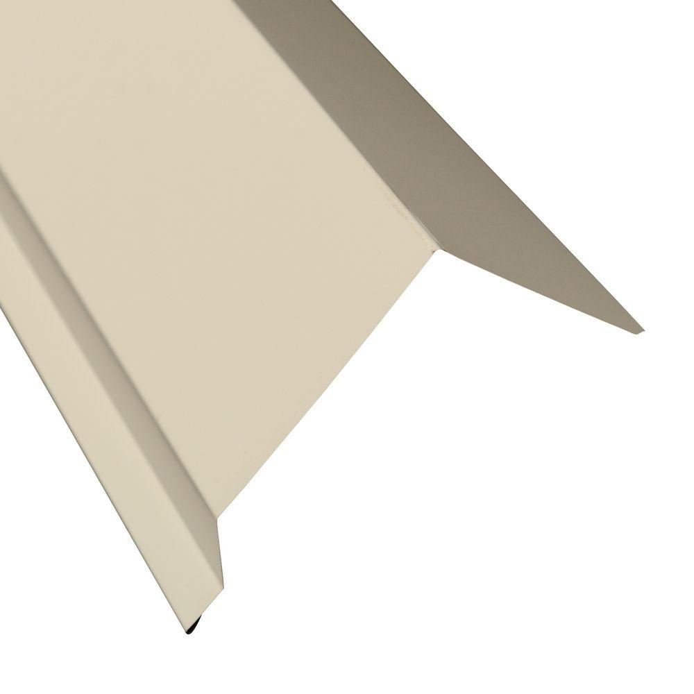 5 in. x 10.5 ft. Eave Flashing Molding in White
