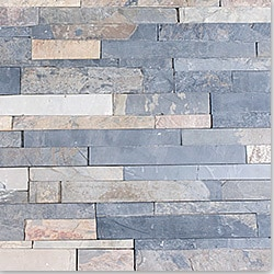 Cabot Natural Ledge Stone/Quartzite Finished Slate - Sierra Blue / Ledge Stone / 6'x24'