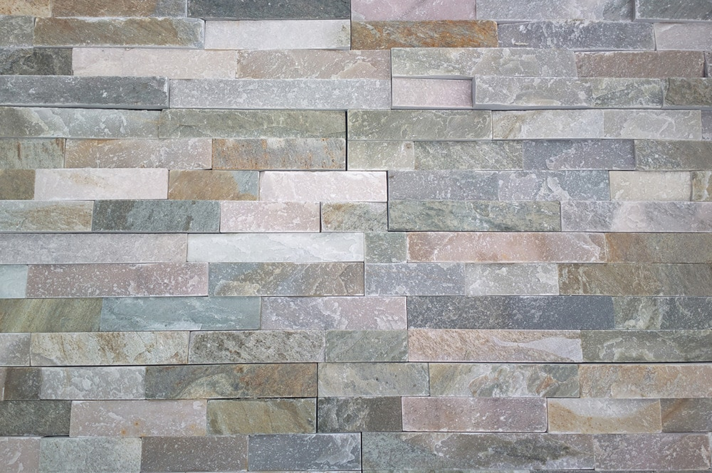 Roterra Stone Siding - Quartzite Finished Slate Collection/Quartzite Finished Slate / Pacific Sunset / Ledge Stone 6'x24'