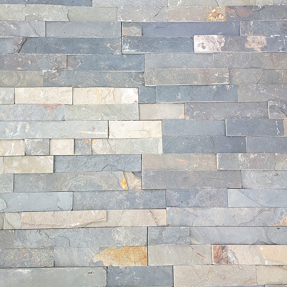 Roterra Stone Siding - Slate Collection/Ledge Stone / Crescent Meadow 6'x24'