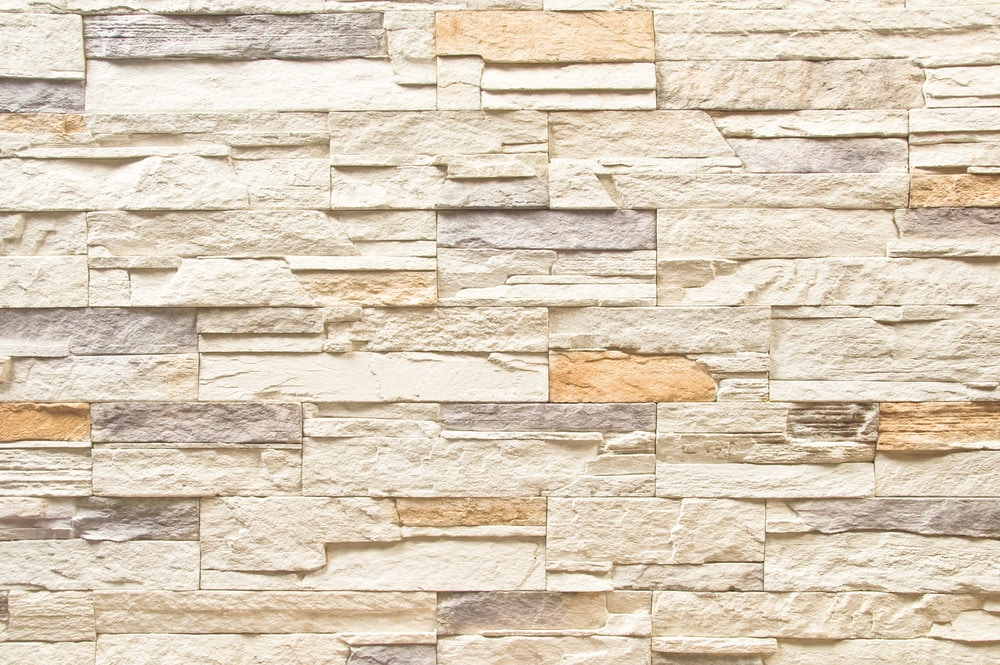 Ailesbury Manufactured Stone - American Frontier Ledge Stone/Andes Cream / 11.3 Sq ft Flat