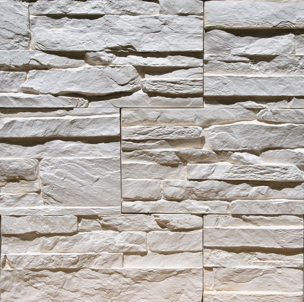 Stone Design Thin Gypsum Stone-Look Wall Decor / Contemporary/Tenerife Beige / 10.76 sqft Flat