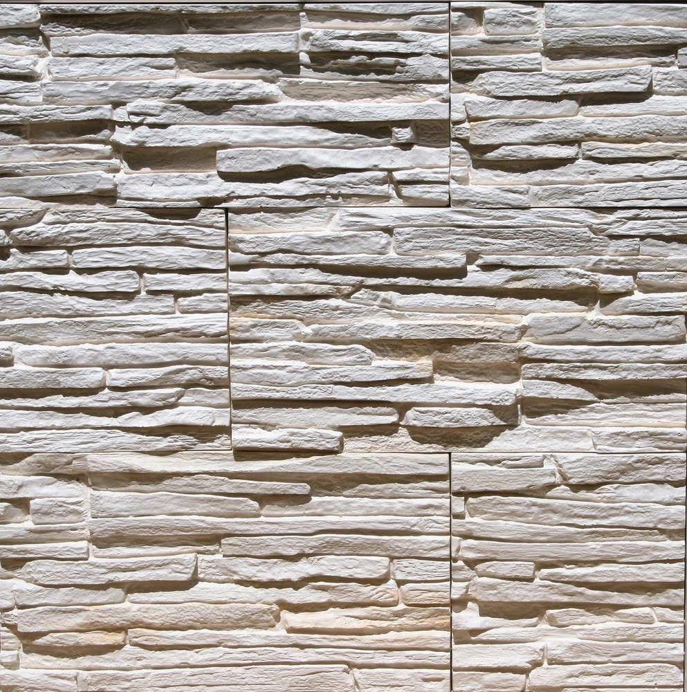 Stone Design Thin Gypsum Stone-Look Wall Decor / Contemporary/Pegasus Beige / 10.76 sqft Flat