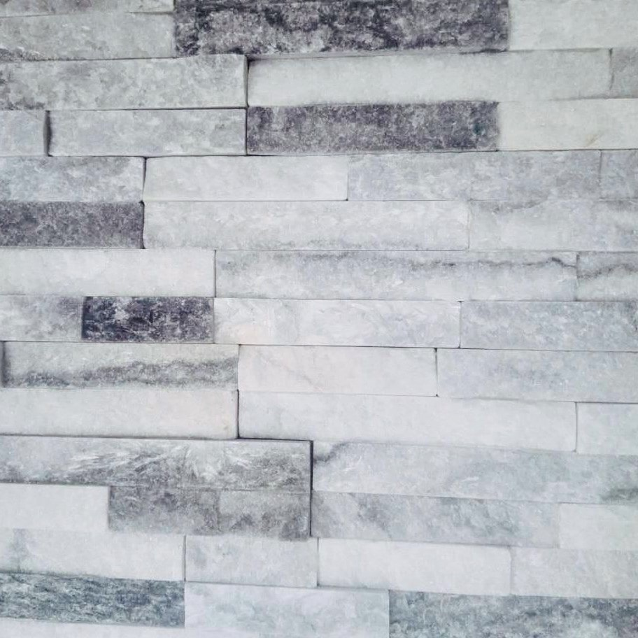 Roterra Thin Stone Siding Collection/Thin Stone / Alaska Gray Slate / 3.94'x14.17'