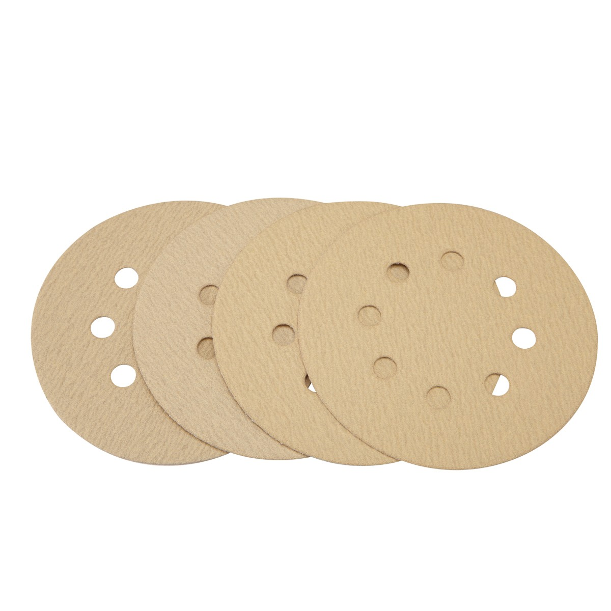 5 in. 150 Grit Hook and Loop Sanding Discs 4 Pc