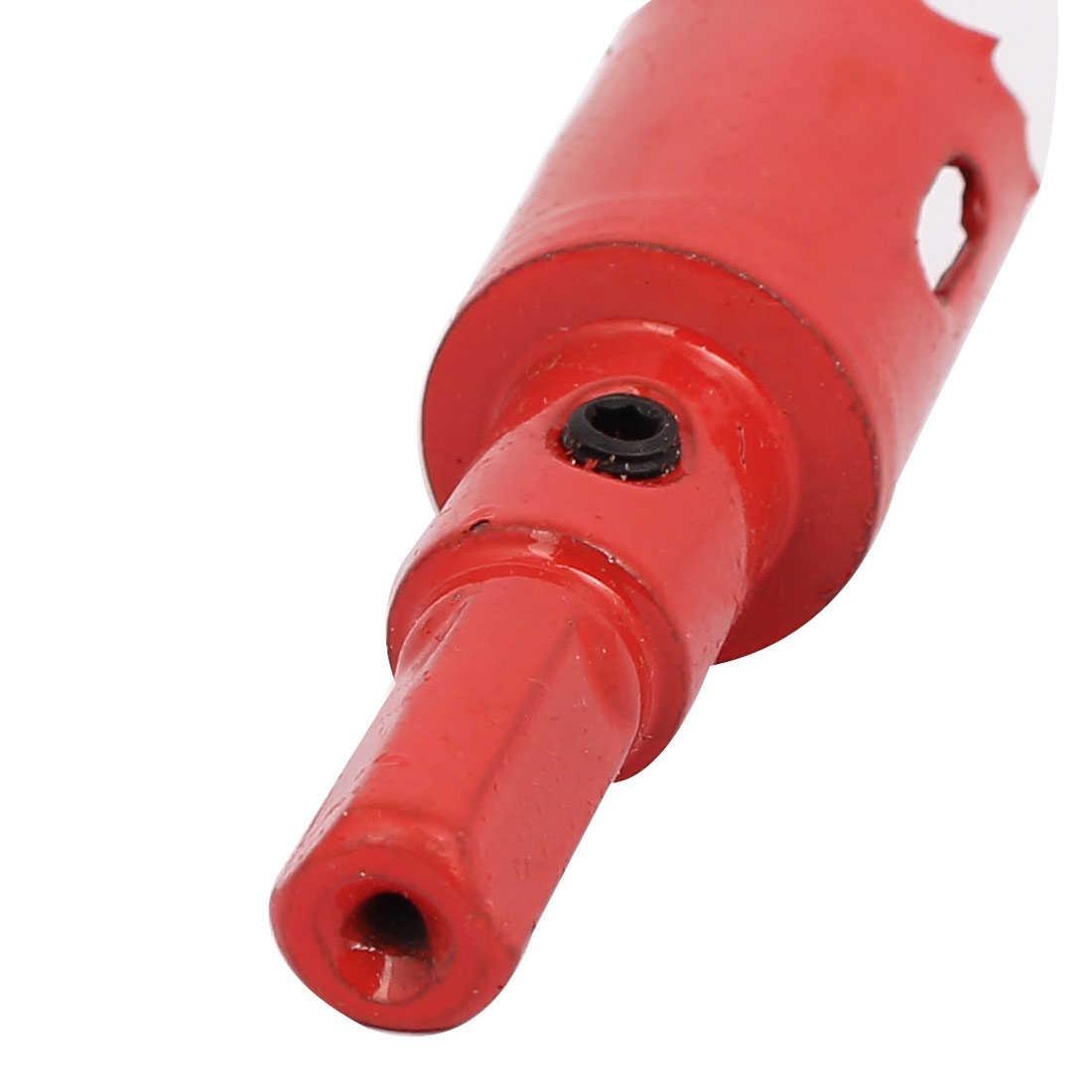 20.5mm Cutting Dia M42 HSS Spring Loaded Bi-Metal Hole Saw Drilling Tool Red